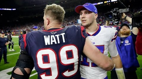 bills jj watt josh allen