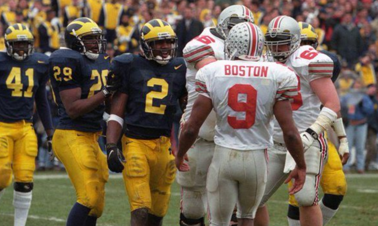woodson vs david boston michigan ohio state game