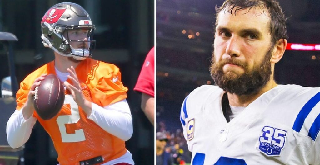 andrew luck and kyle trask